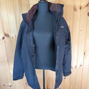 Mens medium rugged elements coat